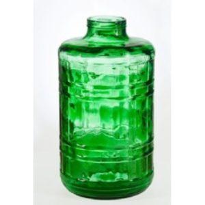 Бутыль 15 литров зелёная