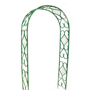 Садовая арка комбинированная (разборная) из металла