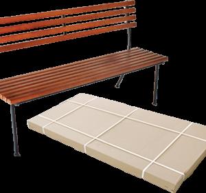 Скамейка для дачи Классика 1,6 метров