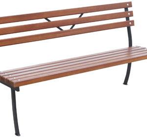 Металлическая скамейка Практика 1,6 м. в Коврове