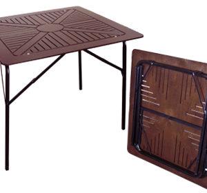 Квадратный складной стол Бистро