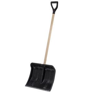Деревянная лопата для уборки снега Cycle Богатырь на фото
