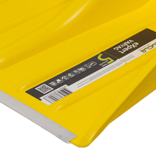 Металлическая защитная планка на кромке ковша лопаты Варяг Цикл