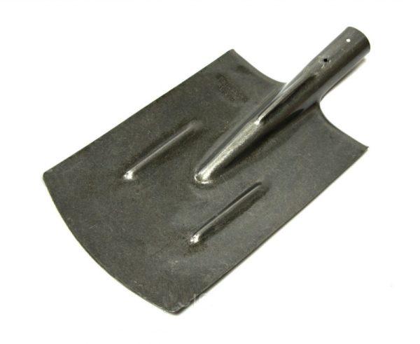 Лопата штыковая прямоугольная Рельсовая сталь