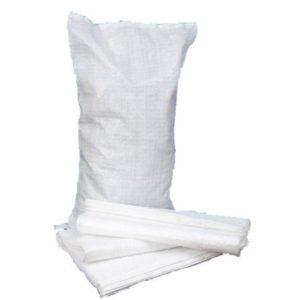 Белые мешки для строительного мусора