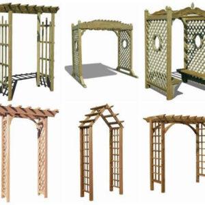 Садовая архитектура для дачи
