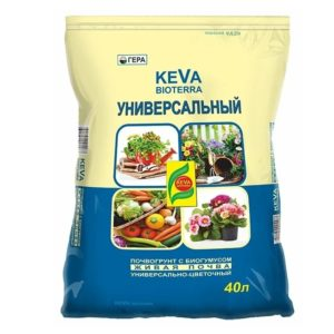 Почвогрунт KEVA BIOTERRA Универсальный 40 литров