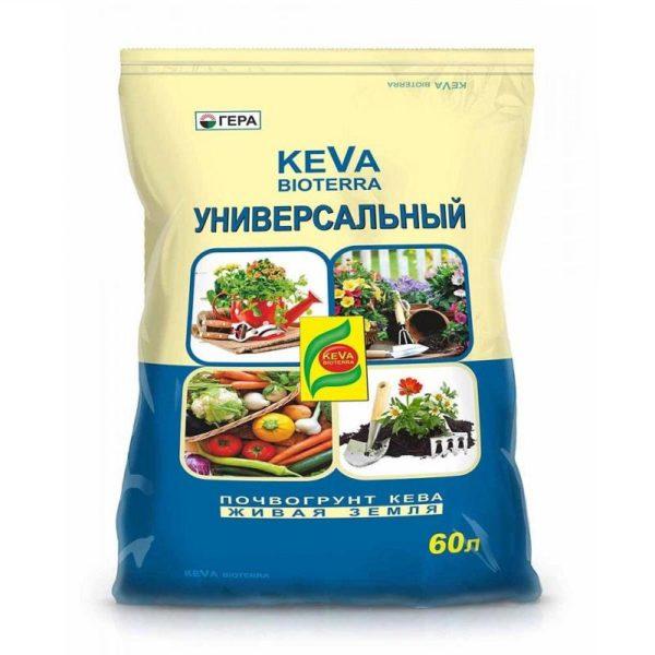 Грунт KEVA BIOTERRA Универсальный 60 литров