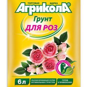 Грунт Агрикола для розы ГРИН БЭЛТ 6 литров