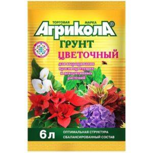Грунт Агрикола цветочный 6 литров в Коврове