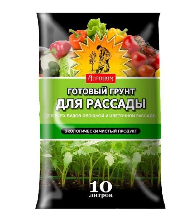 Грунт универсальный для рассады Агроном 10 литров Ковров