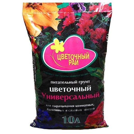 Грунт Цветочный рай универсальный 10 литров Буй