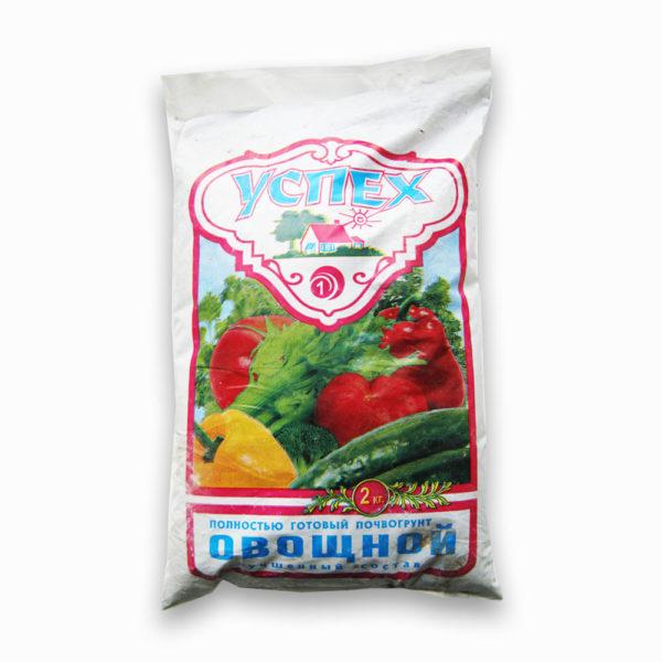 Готовый Грунт Успех овощной универсальный 3 литра