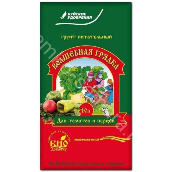 Грунт Волшебная грядка для томатов и перцев 10 литров