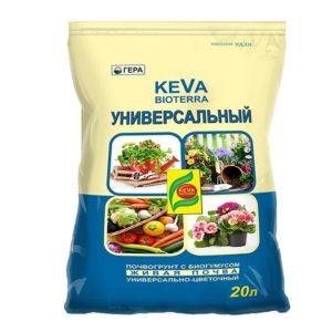Универсальный грунт KEVA BIOTERRA 20 литров
